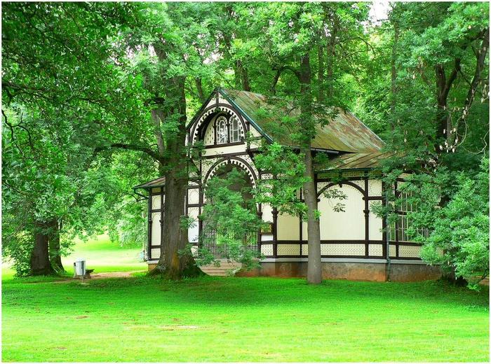 Курорт Марианске Лазне - зелёная жемчужина Чехии. 60419