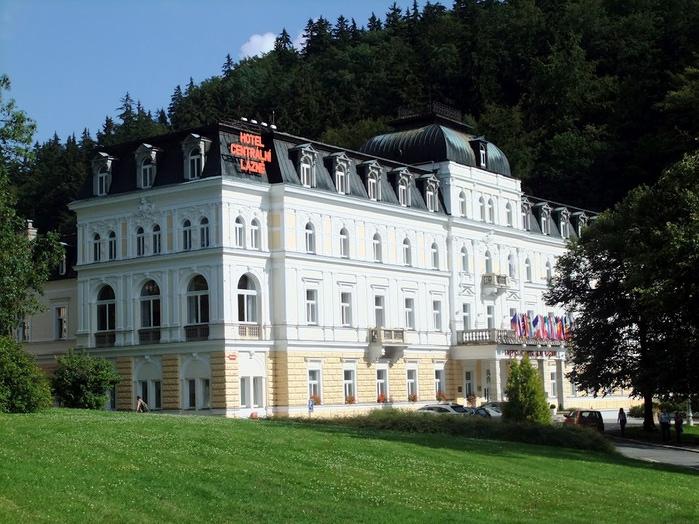 Курорт Марианске Лазне - зелёная жемчужина Чехии. 71565