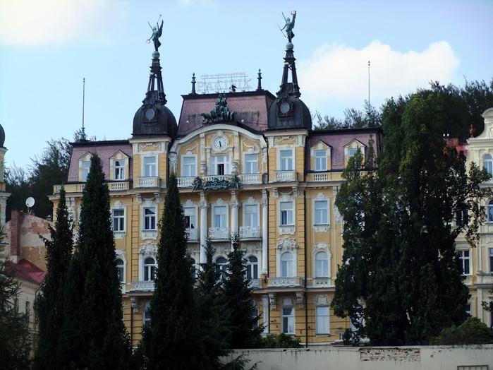 Курорт Марианске Лазне - зелёная жемчужина Чехии. 42835