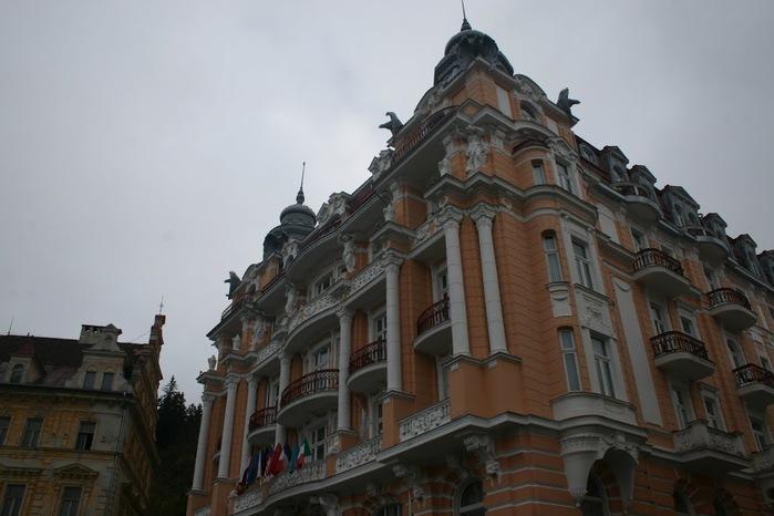 Курорт Марианске Лазне - зелёная жемчужина Чехии. 14101