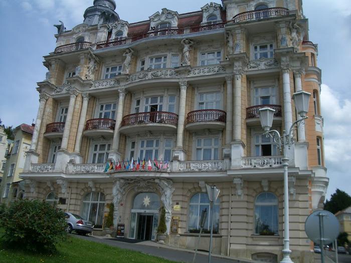 Курорт Марианске Лазне - зелёная жемчужина Чехии. 86849