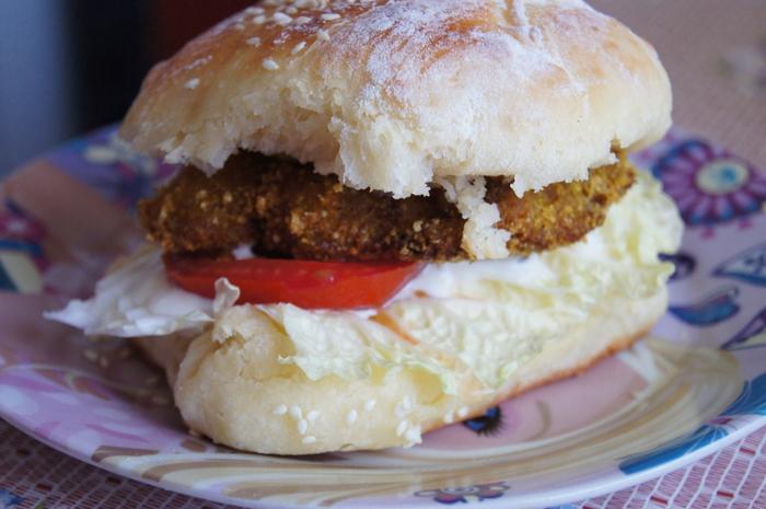 Домашние гамбургеры рецепт с фаршем рецепт
