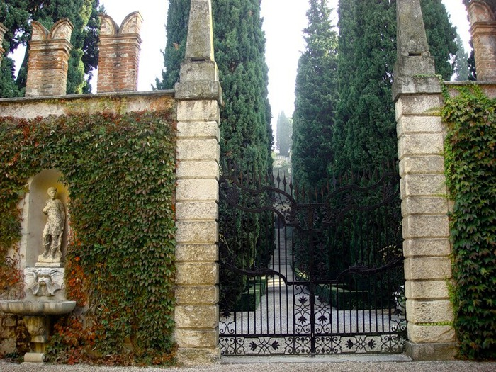 Сад Джусти - достопримечательности Италии 27 (700x525, 172Kb)