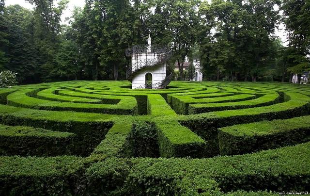 Сад Джусти - достопримечательности Италии 4 (640x404, 125Kb)