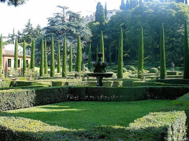Сад Джусти - достопримечательности Италии 7 (640x480, 165Kb)