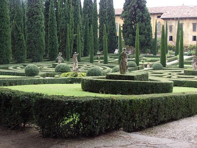 Сад Джусти - достопримечательности Италии 10 (640x480, 139Kb)