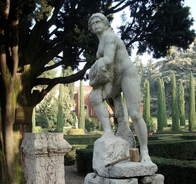 Сад Джусти - достопримечательности Италии 12 (640x601, 148Kb)