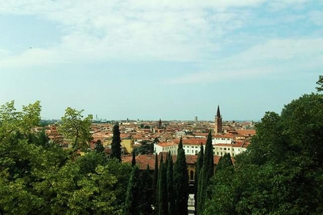 Сад Джусти - достопримечательности Италии 15 (640x426, 73Kb)
