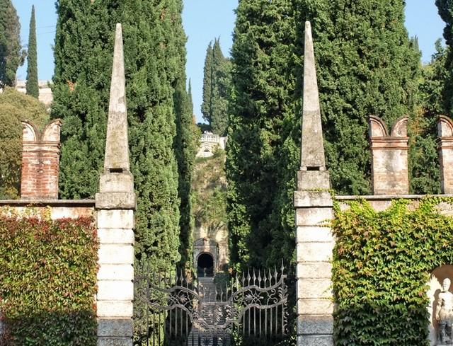 Сад Джусти - достопримечательности Италии 18 (640x489, 164Kb)