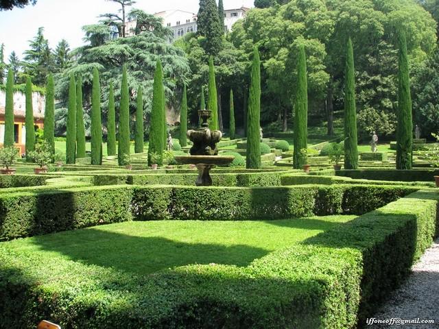 Сад Джусти - достопримечательности Италии 20 (640x480, 150Kb)