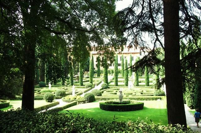 Сад Джусти - достопримечательности Италии 25 (640x426, 133Kb)