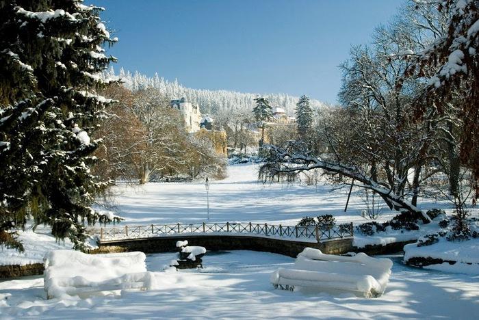 Курорт Марианске Лазне - зелёная жемчужина Чехии. 58590