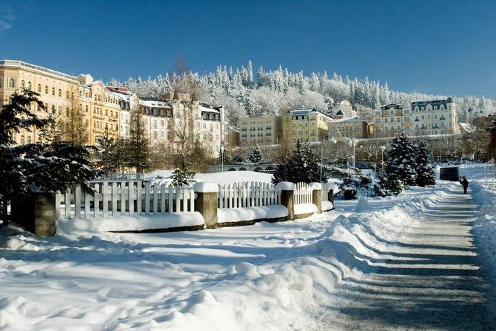 Курорт Марианске Лазне - зелёная жемчужина Чехии. 13220