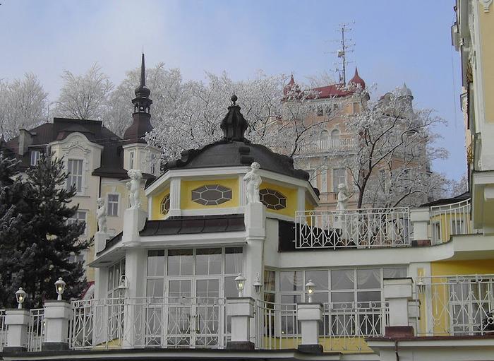Курорт Марианске Лазне - зелёная жемчужина Чехии. 36554