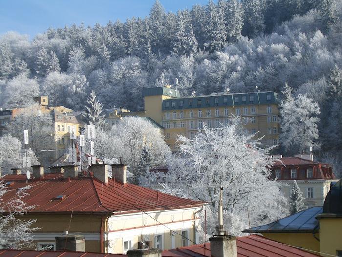 Курорт Марианске Лазне - зелёная жемчужина Чехии. 54728
