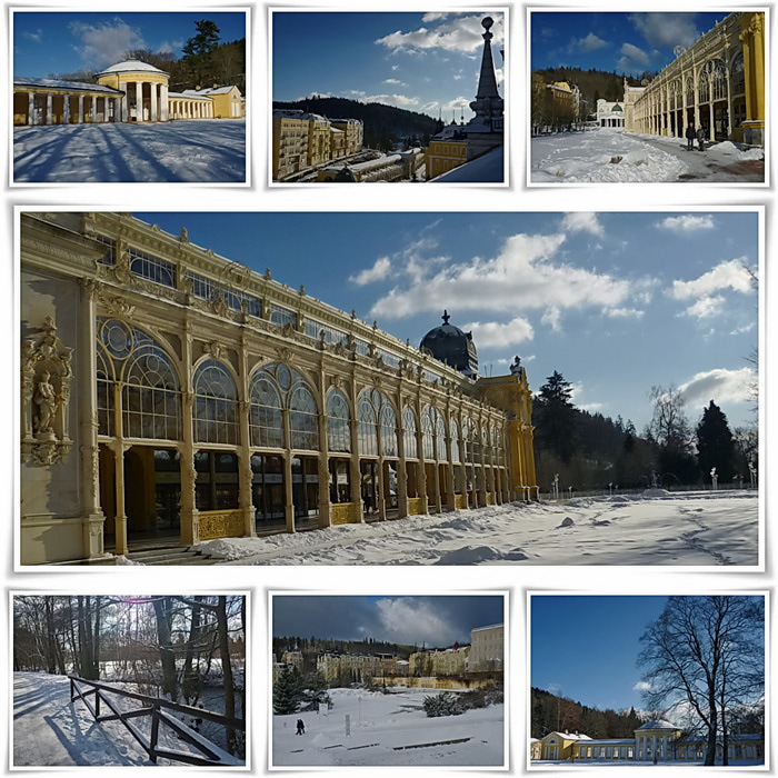Курорт Марианске Лазне - зелёная жемчужина Чехии. 50734