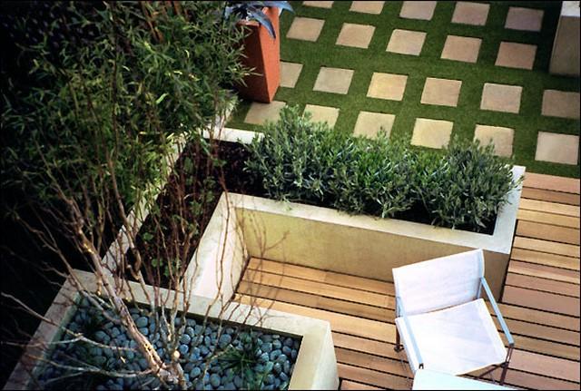 Идеи для сада на террасе от дизайнера Амира Шлезингера 5 (640x431, 104Kb)