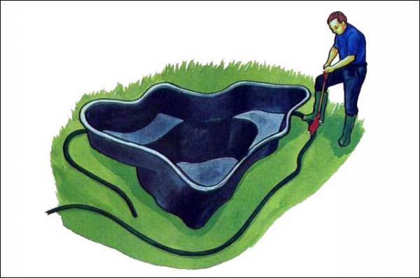 Пруд на даче своими руками - Загород - дом, сад, огород - ДОМ,САД,дизайн,декор - Каталог статей - ЛИНИИ ЖИЗНИ