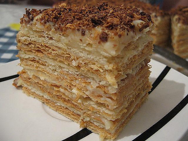 Торт наполеон рецепт в домашних условиях со сметаной
