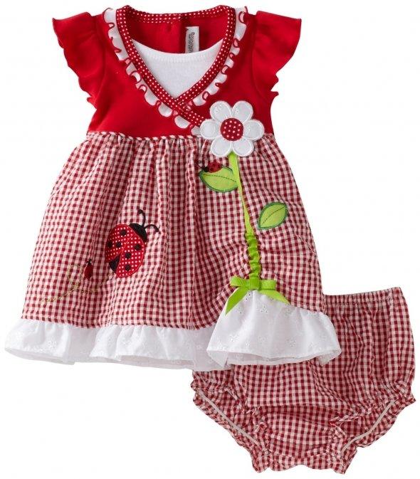 Летнее платье для малышки
