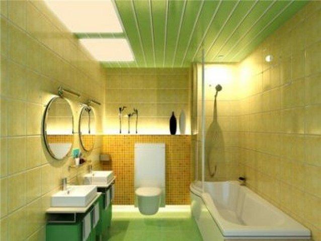 Как сделать ванную комнату пластиковыми панелями своими