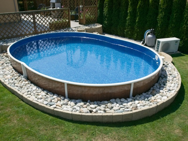 Фото бассейнов на даче своими руками