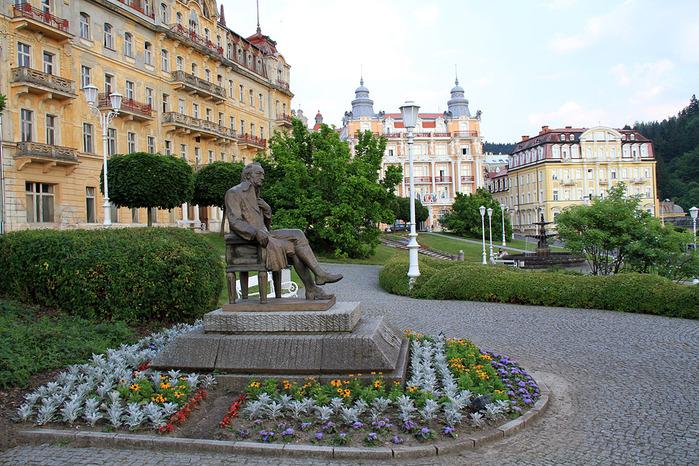 Курорт Марианске Лазне - зелёная жемчужина Чехии. 64566