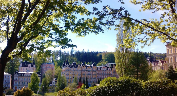 Курорт Марианске Лазне - зелёная жемчужина Чехии. 43701
