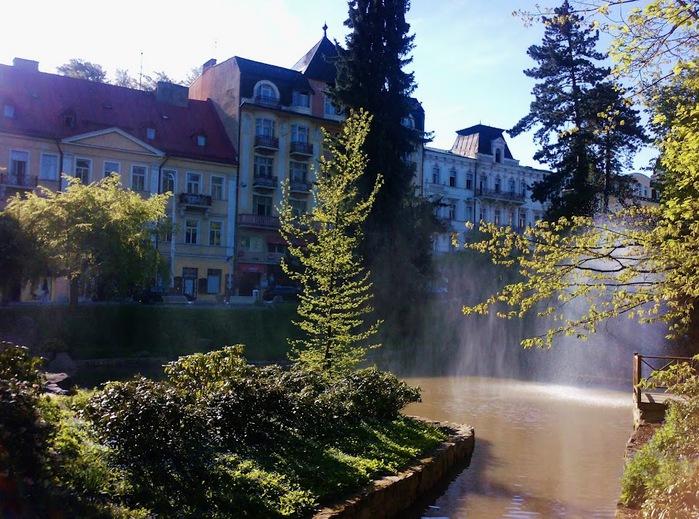Курорт Марианске Лазне - зелёная жемчужина Чехии. 27677