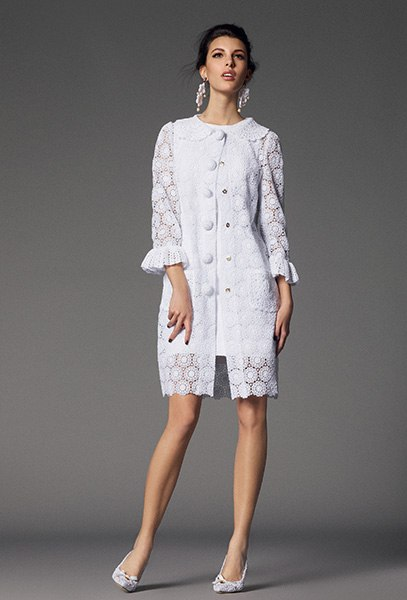 Вязаное платье дольче габбана фото