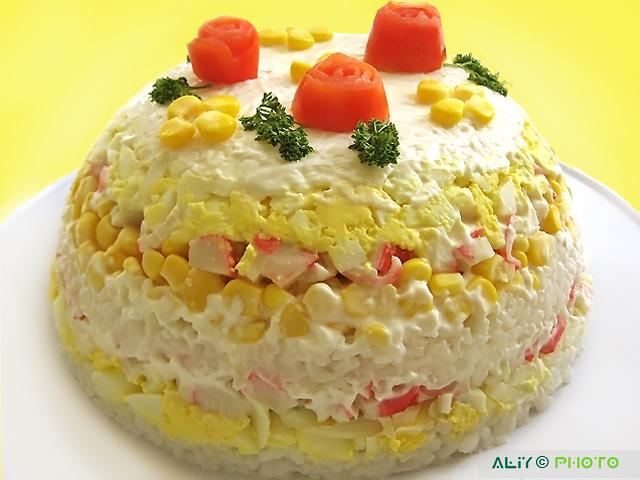 Рецепты тортов и салатов с