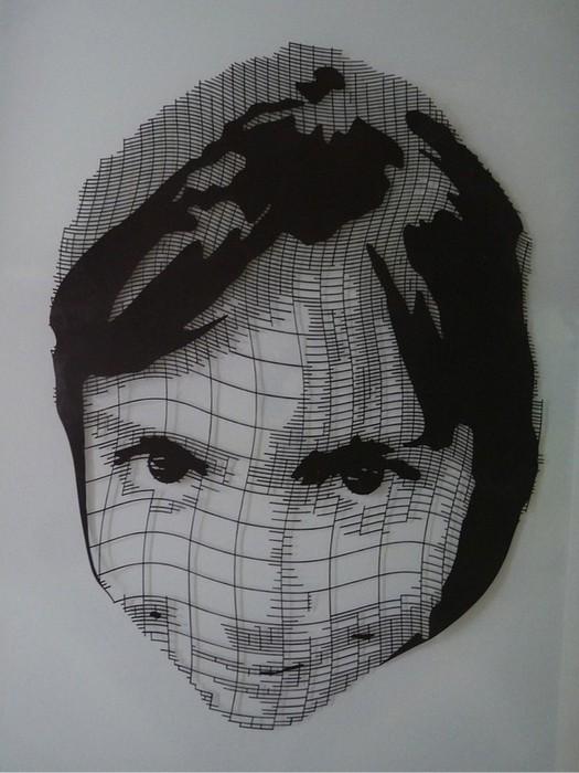 Картины из бумаги вырезанные Крисом Трапеньером 9 (525x700, 82Kb)