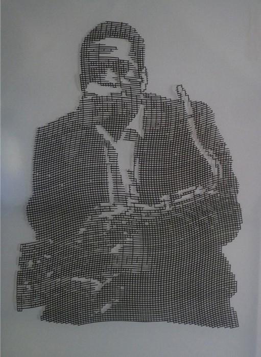 Картины из бумаги вырезанные Крисом Трапеньером 11 (511x700, 103Kb)