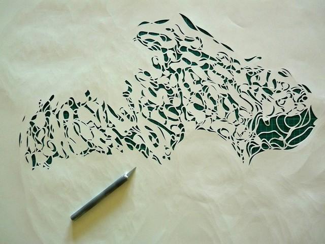 Картины из бумаги вырезанные Крисом Трапеньером 13 (640x480, 83Kb)