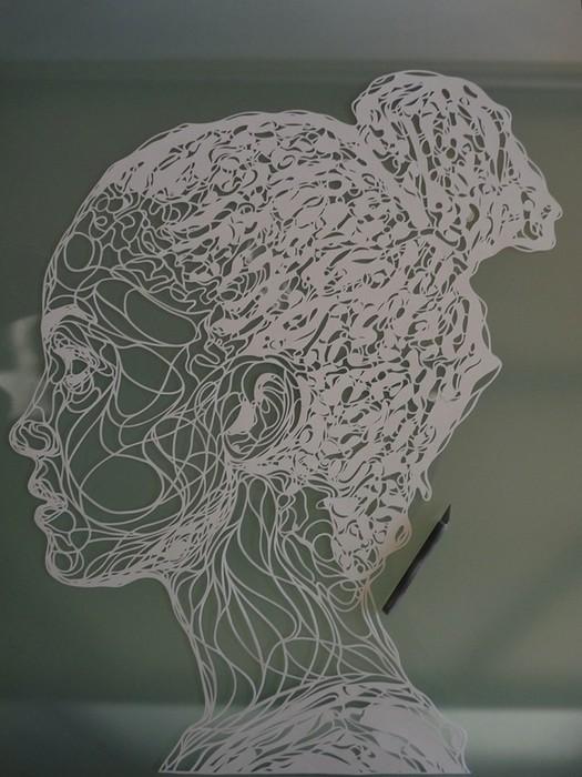 Картины из бумаги вырезанные Крисом Трапеньером 15 (525x700, 93Kb)