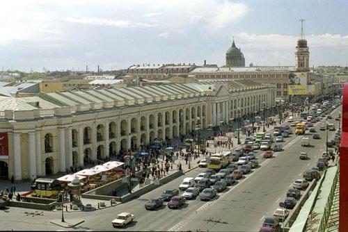 Гостиный Двор в Петербурге.