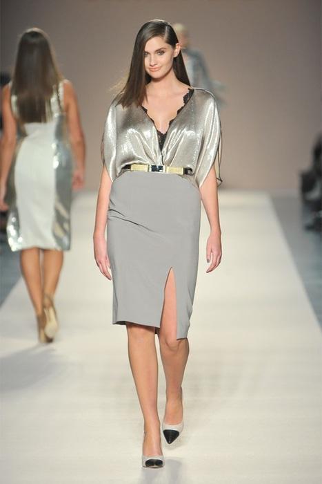 Мода 2013 платья для полных 7