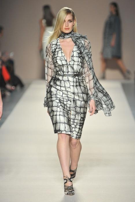 Мода 2013 платья для полных 4