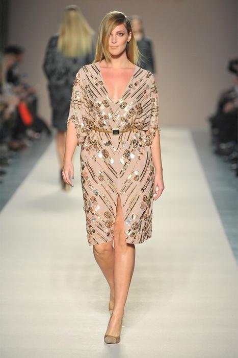 Мода 2013 платья для полных 3