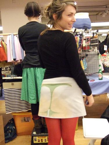 Мода в японии на прозрачные юбки