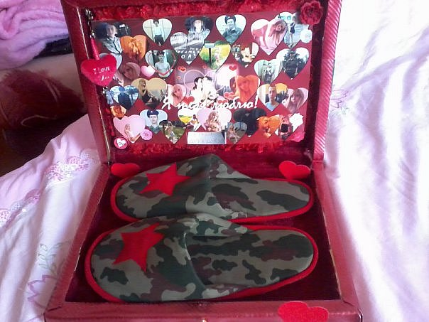 Своими руками подарок любимому в армию