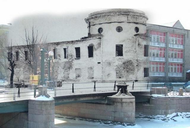 Городские пейзажи Петербурга в прошлом и настоящем 6 (640x432, 77Kb)