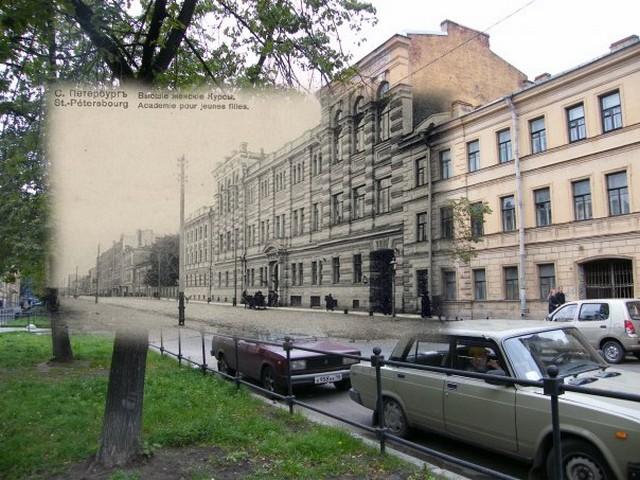 Городские пейзажи Петербурга в прошлом и настоящем 22 (640x480, 109Kb)