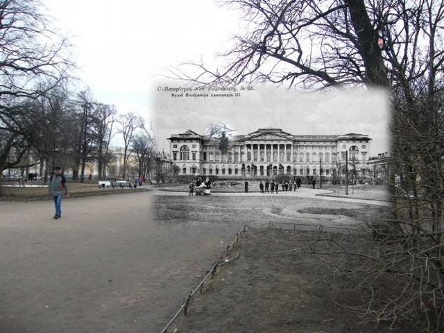 Городские пейзажи Петербурга в прошлом и настоящем 34 (640x480, 103Kb)