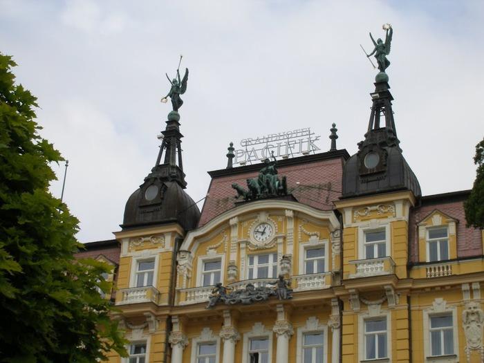 Курорт Марианске Лазне - зелёная жемчужина Чехии. 57003