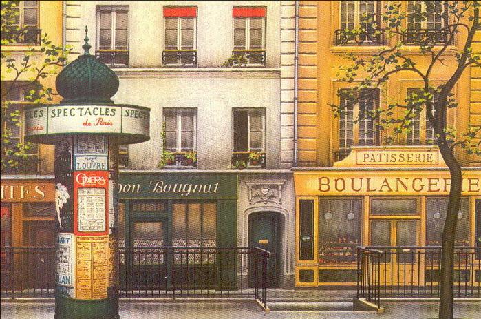Paris par les peintres. André Renoux10 (700x463, 184Kb)