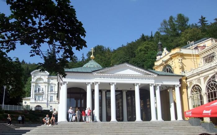 Курорт Марианске Лазне - зелёная жемчужина Чехии. 30583