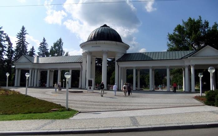 Курорт Марианске Лазне - зелёная жемчужина Чехии. 89192