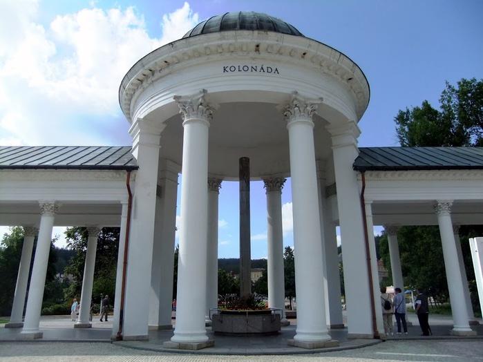Курорт Марианске Лазне - зелёная жемчужина Чехии. 53897
