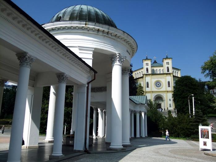 Курорт Марианске Лазне - зелёная жемчужина Чехии. 13363